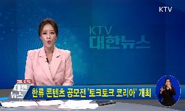 한류 콘텐츠 공모전 토크토크 코리아 개최 동영상 보기